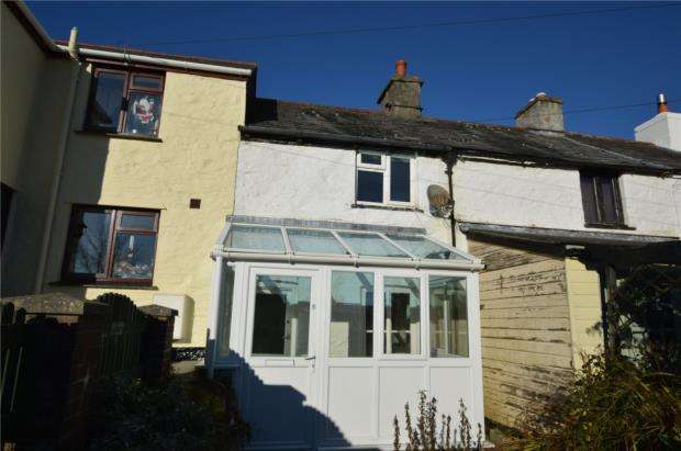 2 Bedrooms Terraced House for sale in Lower Wesley Terrace, Pensilva, Liskeard, Cornwall