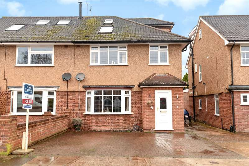 4 Bedrooms Semi Detached House for sale in Whiteheath Avenue, Ruislip, Middlesex, HA4