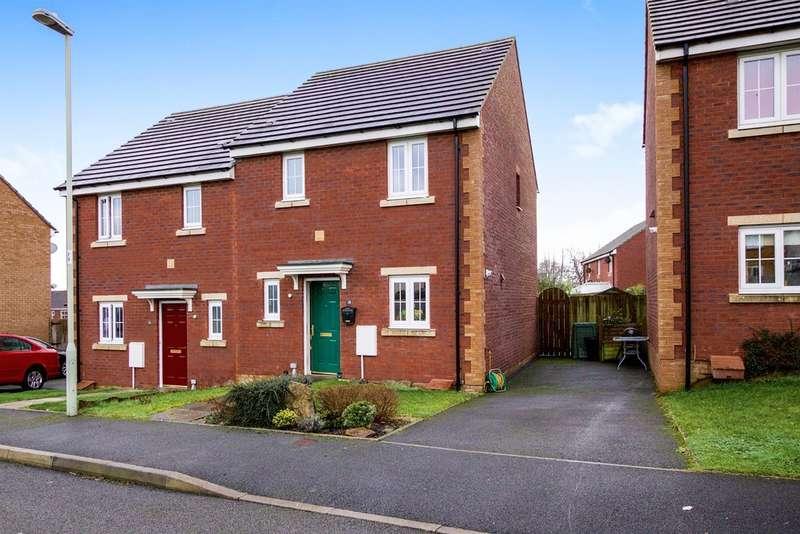 3 Bedrooms Semi Detached House for sale in Clos Y Cudyll Coch, Bridgend