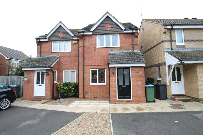 2 Bedrooms Semi Detached House for sale in Lilac Close, Littlehampton, West Sussex, BN17