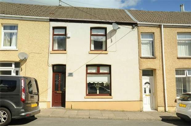 3 Bedrooms Terraced House for sale in Golden Terrace, Maesteg, Maesteg, Mid Glamorgan