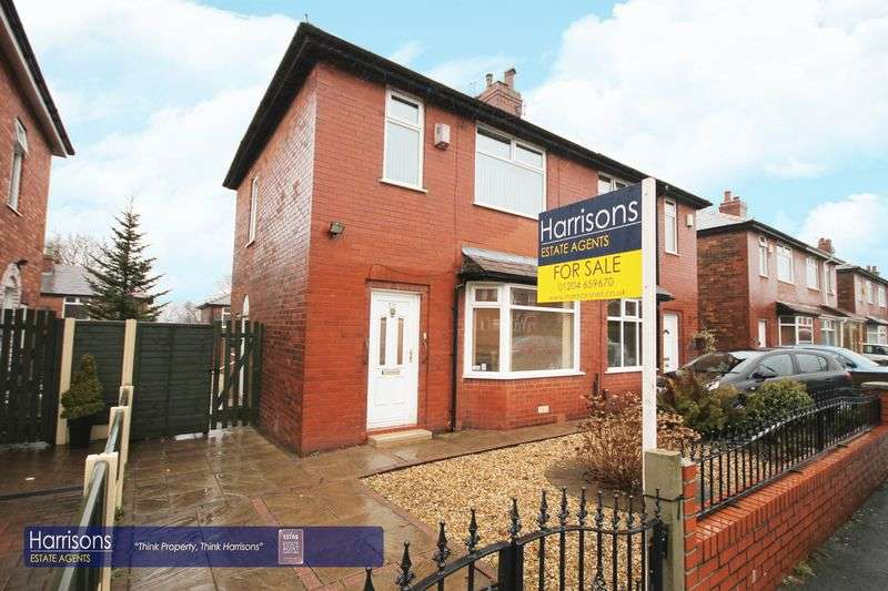 3 Bedrooms Semi Detached House for sale in Roseneath Road, Great Lever, Bolton, Lancashire.