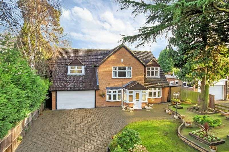 4 Bedrooms Detached House for sale in The Broadway, Oadby
