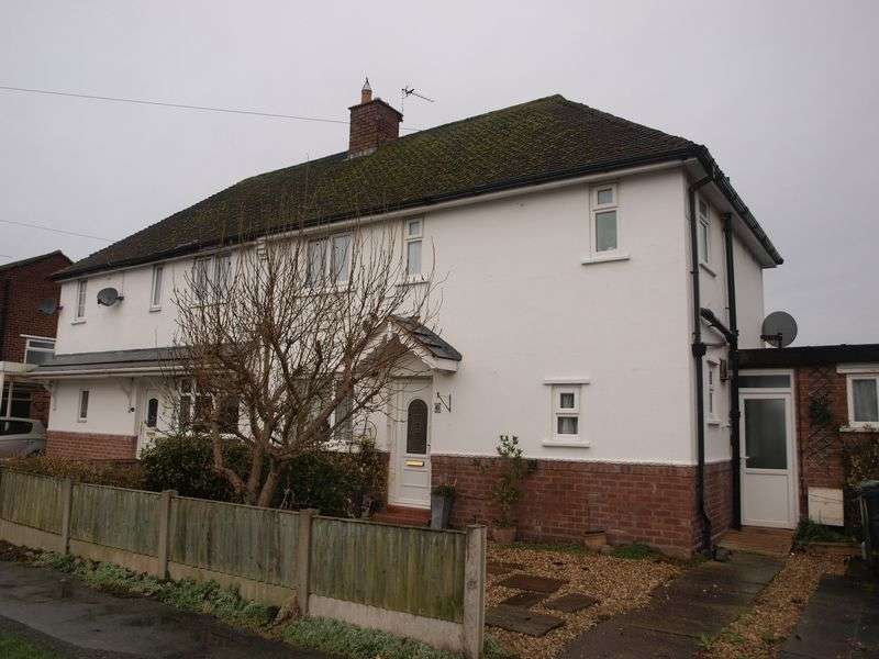 3 Bedrooms Semi Detached House for sale in Townshend Road, Lostock Gralam, CW9 7QL