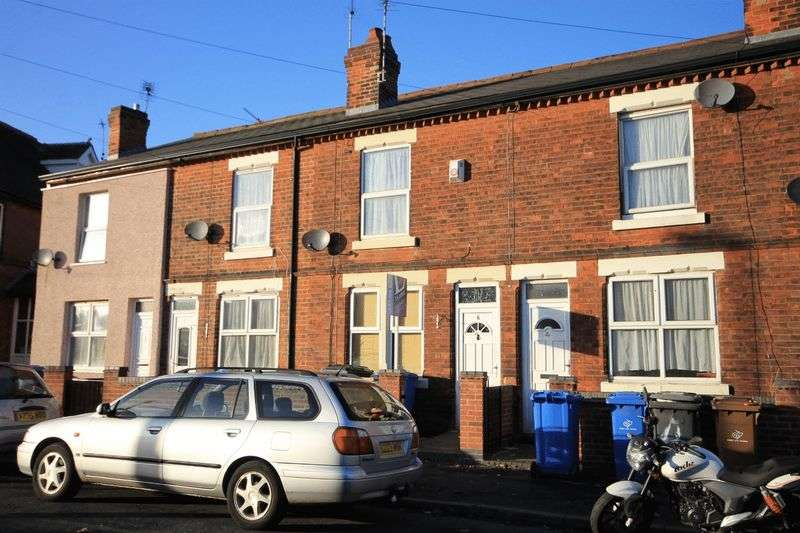 2 Bedrooms Terraced House for sale in ABINGDON STREET, DERBY