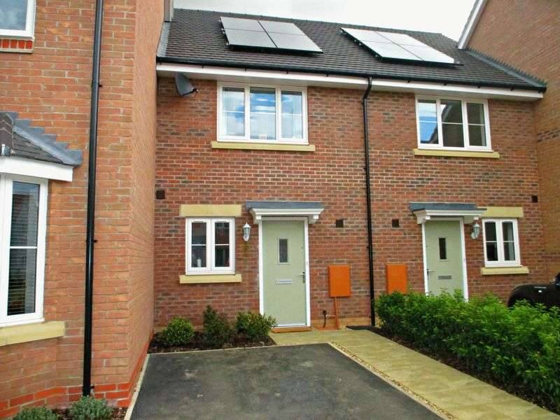 2 Bedrooms Terraced House for sale in Battle Avenue, Monksmoor Park, Daventry, NN11 2NX