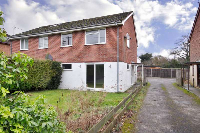 3 Bedrooms Semi Detached House for sale in Bloswood Lane, Whitchurch