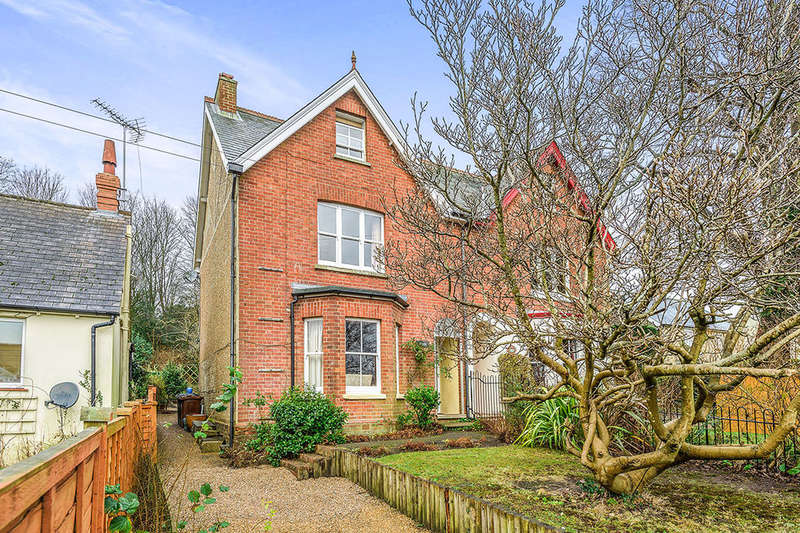4 Bedrooms Semi Detached House for sale in Queens Road, Crowborough, TN6