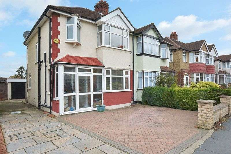 3 Bedrooms Semi Detached House for sale in Ewell Court Avenue, Ewell, EPSOM
