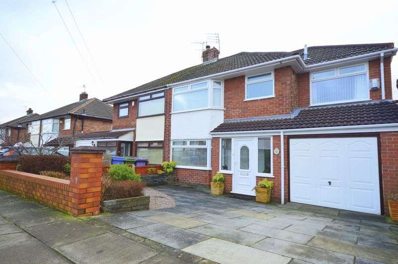 4 Bedrooms Semi Detached House for sale in Charterhouse Road, Liverpool