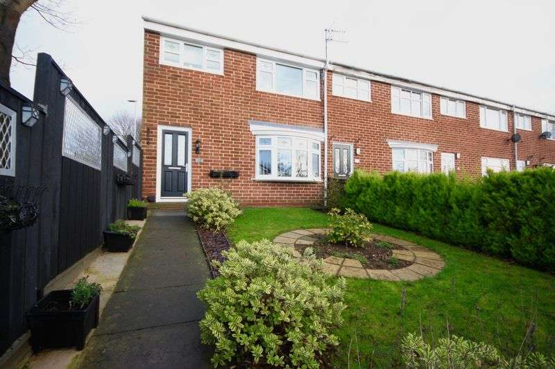 3 Bedrooms Terraced House for sale in Hilsdon Drive, Shildon