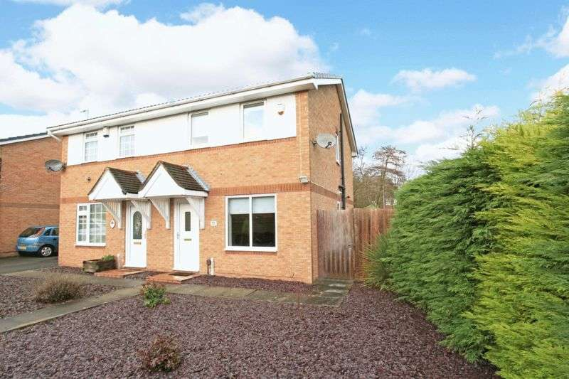 3 Bedrooms Semi Detached House for sale in Conroy Drive, Dawley Bank, Telford