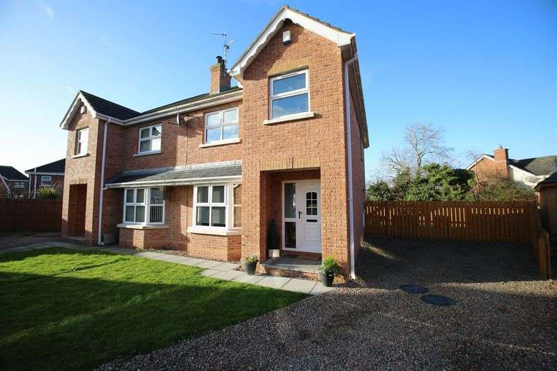3 Bedrooms Semi Detached House for sale in 59 Old Fort Lodge, Craigavon