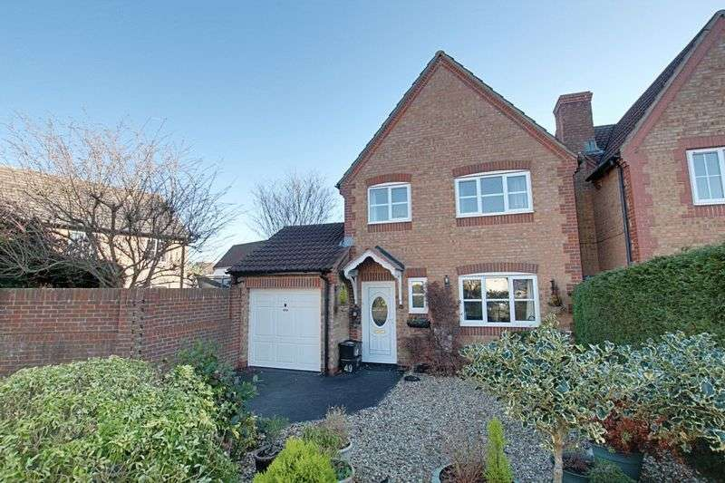 3 Bedrooms Detached House for sale in Lydiard Way, Trowbridge