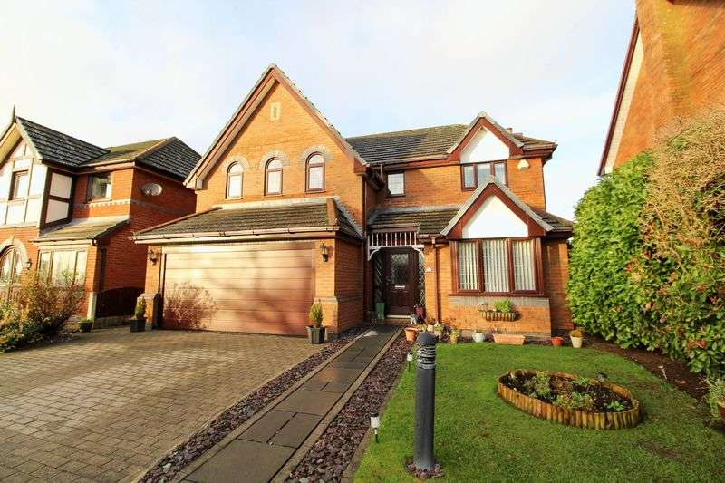 4 Bedrooms Detached House for sale in Pond Close, Tarleton, Preston