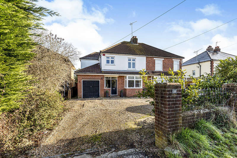 4 Bedrooms Semi Detached House for sale in Hulbert Road, Havant, PO9