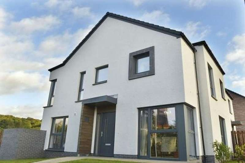 3 Bedrooms Semi Detached House for sale in Glen Shirva Road, Twechar,Kilsyth, Glasgow, G65