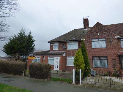 3 Bedrooms End Of Terrace House for sale in Blackrod Avenue, Speke, Liverpool, Merseyside, L24