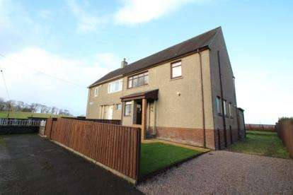 3 Bedrooms Semi Detached House for sale in Crookedshields Road, Nerston