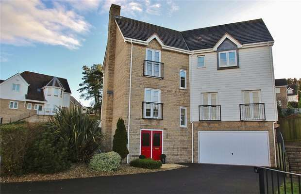 4 Bedrooms Detached House for sale in Charlcombe Rise, Portishead, North Somerset