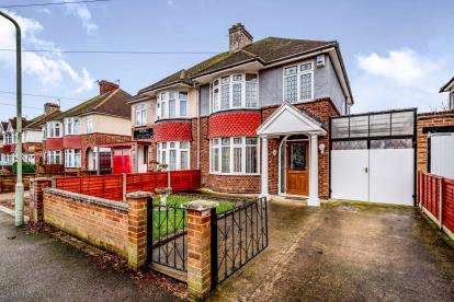 3 Bedrooms Semi Detached House for sale in Harewood Road, Bedford, Bedfordshire, .