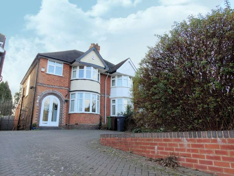 3 Bedrooms Semi Detached House for sale in Braemar Road, Solihull