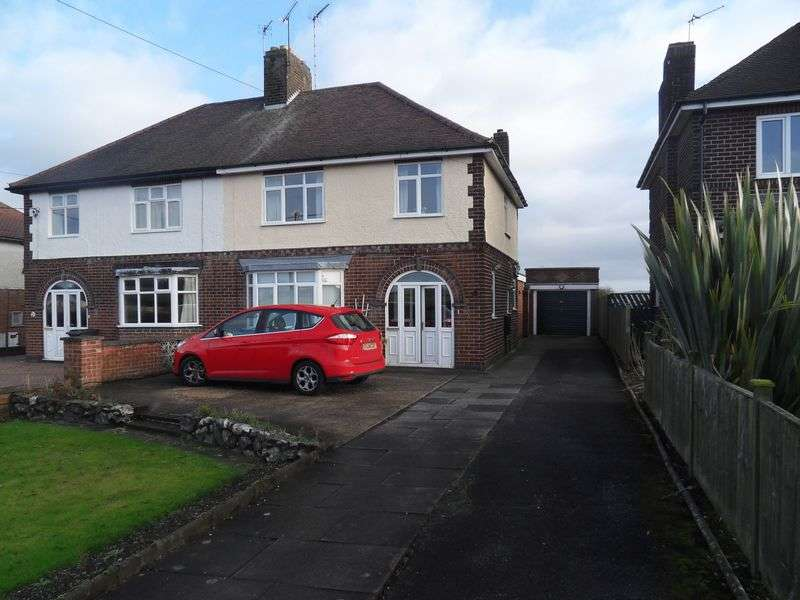 3 Bedrooms Semi Detached House for sale in Thornborough Road, Coalville