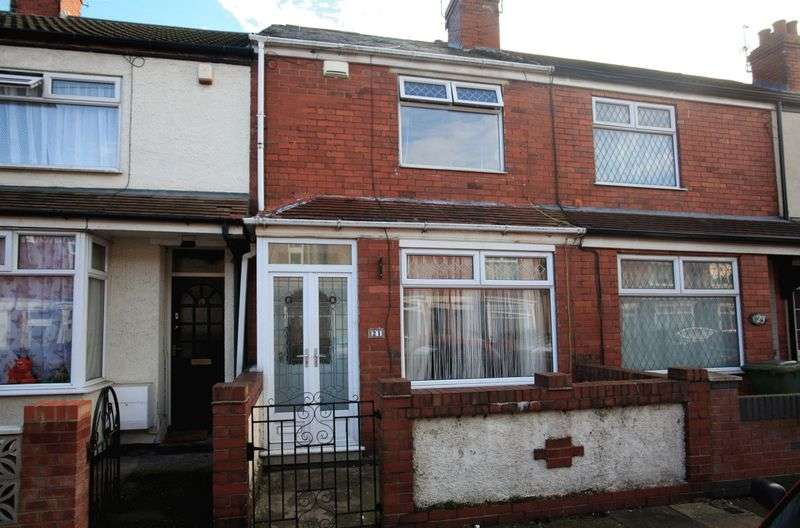 2 Bedrooms Terraced House for sale in Lawson Avenue, Grimsby