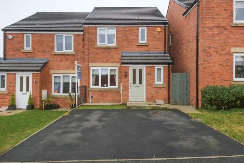 3 Bedrooms Semi Detached House for sale in Jacob Court, Billinge, Wigan