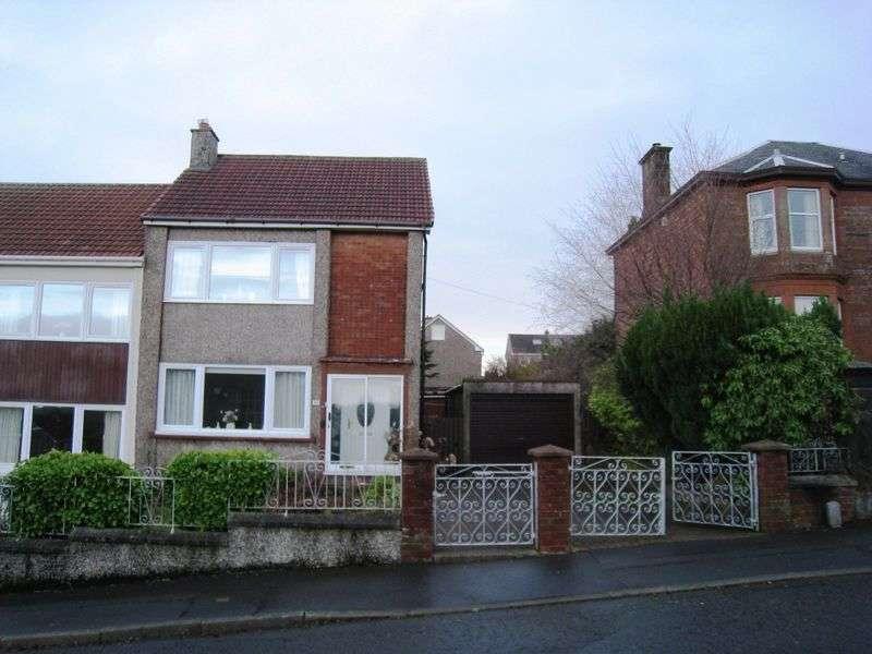 3 Bedrooms Semi Detached House for sale in Mount Vernon Avenue, Coatbridge