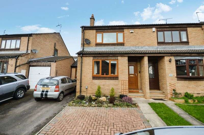 3 Bedrooms Semi Detached House for sale in 7 Oakwood Close, Worsbrough, Barnsley, S70 4TJ
