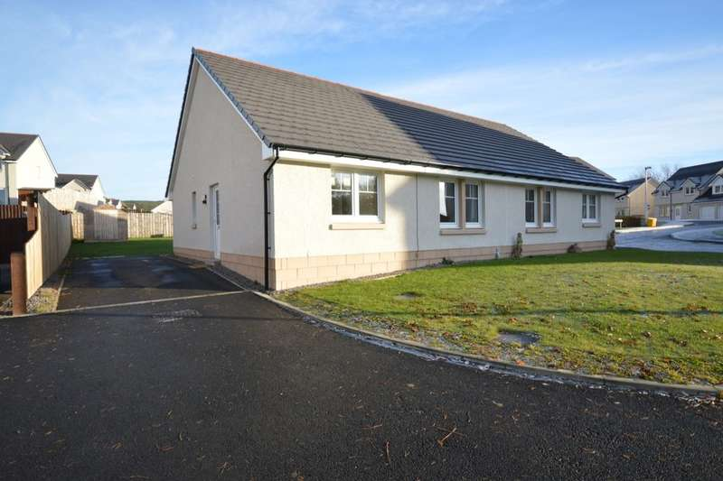 2 Bedrooms Semi Detached Bungalow for sale in Balnabrath Way, North Kessock, Inverness, IV1