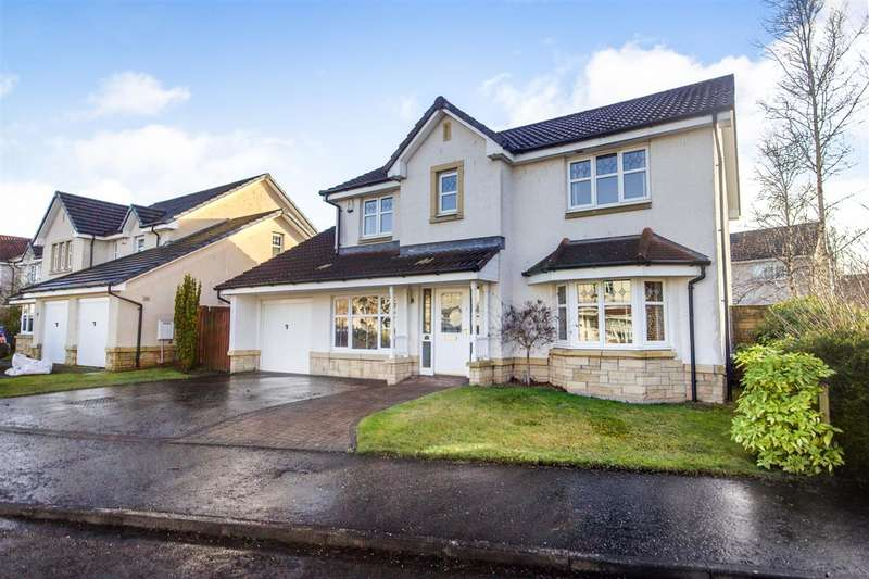 4 Bedrooms Detached House for sale in Burns Avenue, Larbert