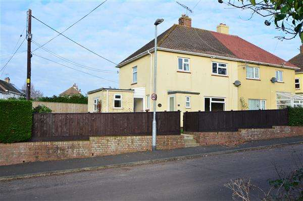 3 Bedrooms Semi Detached House for sale in St Marys Cottages, Dawlish