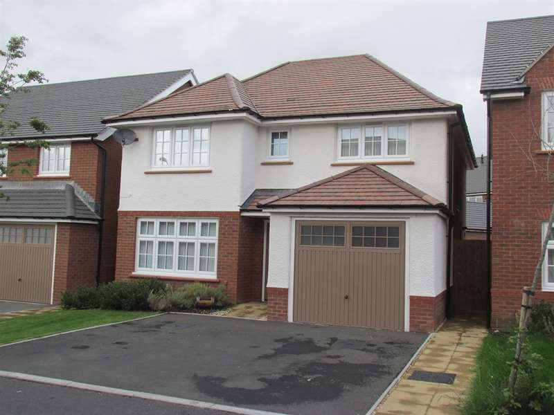 4 Bedrooms Detached House for sale in Ivy Close, Trelewis, Treharris