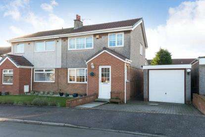 3 Bedrooms Semi Detached House for sale in Glenisla Avenue, Moodiesburn, Glasgow, North Lanarkshire