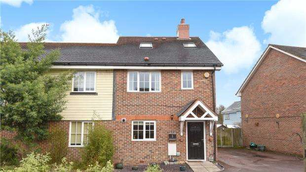 4 Bedrooms Semi Detached House for sale in Turgis Road, Elvetham Heath, Hampshire