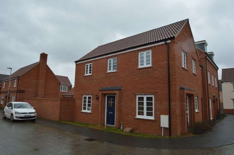 3 Bedrooms Detached House for sale in Maze Avenue, Queens Hill, Norwich