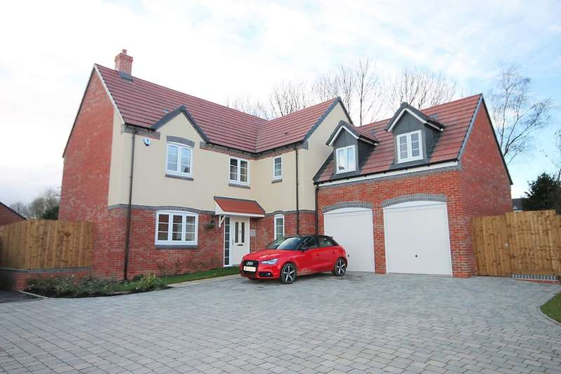 4 Bedrooms Detached House for sale in The Hamstall, Off Overwoods Road, Tamworth, B77 5NG