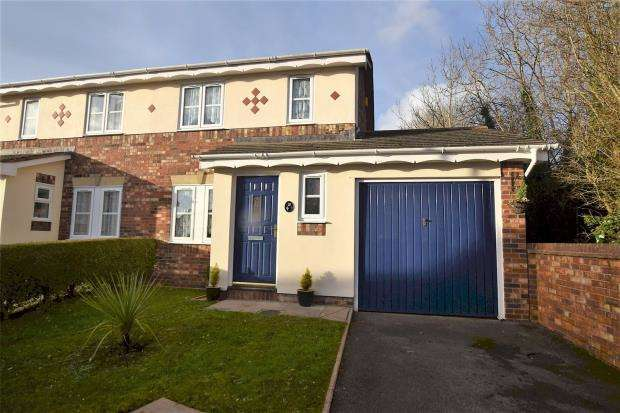 3 Bedrooms Semi Detached House for sale in Cotehele Drive, Paignton, Devon