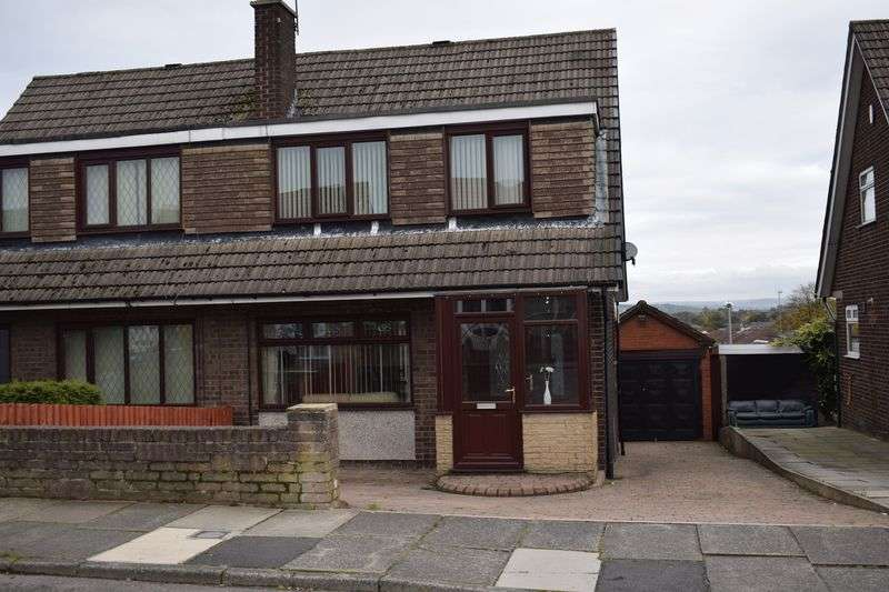 3 Bedrooms Semi Detached House for sale in Higher Lomax Lane, Heywood