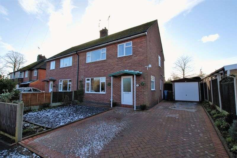 3 Bedrooms Semi Detached House for sale in Hawthornden Close, Uttoxeter