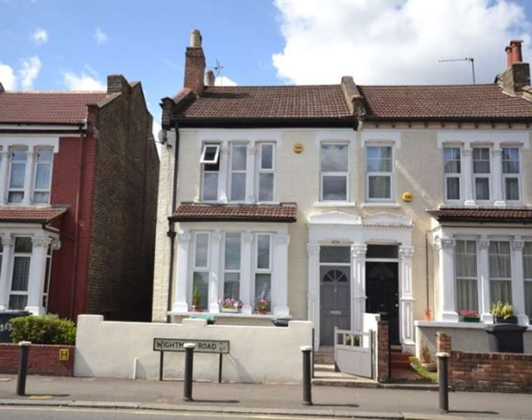 3 Bedrooms Semi Detached House for sale in Wightman Road, London, London, N8
