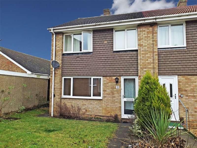 3 Bedrooms Semi Detached House for sale in Prospero Way, Huntingdon, Cambridgeshire, PE29
