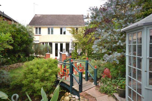 4 Bedrooms Detached House for sale in Little Knowle, Budleigh Salterton, Devon