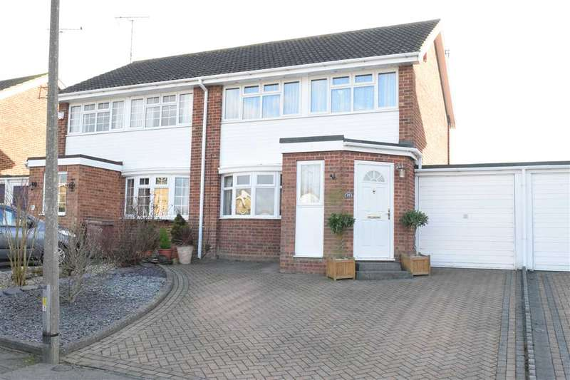 3 Bedrooms Semi Detached House for sale in Downsway, Springfield, Chelmsford