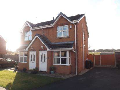 2 Bedrooms Semi Detached House for sale in Cliftonmill Meadows, Golborne, Warrington, Greater Manchester