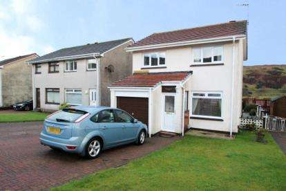 3 Bedrooms Detached House for sale in Crisswell Close, Greenock