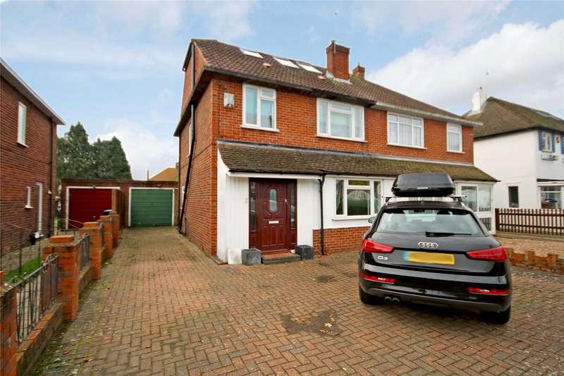 4 Bedrooms Semi Detached House for sale in Bridge Road, Chertsey, Surrey, KT16