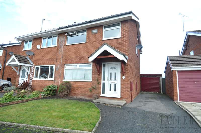 3 Bedrooms Semi Detached House for sale in Headington Road, Saughall Massie, Upton